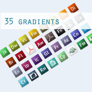 Adobe CS3 Gradients
